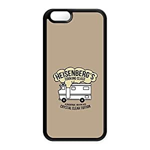 Heisenberg's Cooking Class Black Silicon Case Snap-On Protective Back Cover Rubber Case for Apple? iPhone 6 by Chargrilled + FREE Crystal Clear Screen Protector