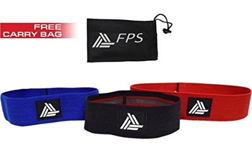 Hip Strength Resistence Bands - Booty Exercise Circles Bands - Set of 3 - Stretching, Lifting, CrossFit, Yoga, Pilates for Variety of Exercise, Workout Style - (Normal, Heavy, Extreme strength)