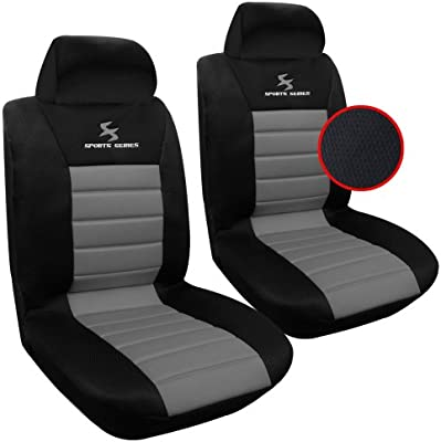 Gris cubierta de asiento para man TGE asiento del coche delantero referencia sólo asiento del conductor