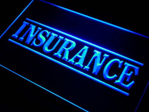 ADV PRO i341-b Insurance Services Neon Light Sign