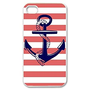 Sailor Anchor Unique Fashion Printing Phone Case for Iphone 4,4S,personalized cover case ygtg575048
