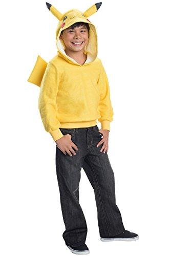 Rubie's Costume Pokemon Pikachu Child Novelty Hoodie Costume, -