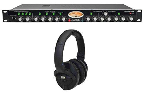 Presonus StudioChannel Studio Channel Recording Tube Mic Preamp + KRK ()