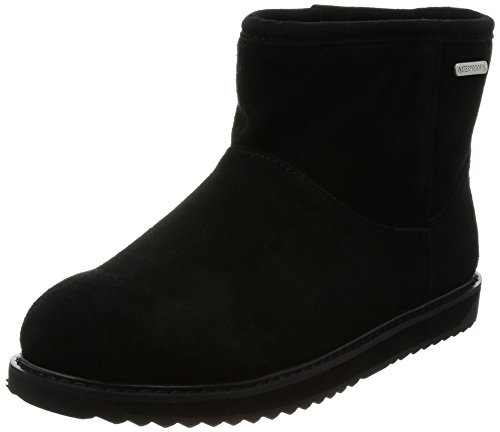 Womens EMU Charcoal Boots Paterson Classic Australia in Waterproof Black Mini q5A5n6F4