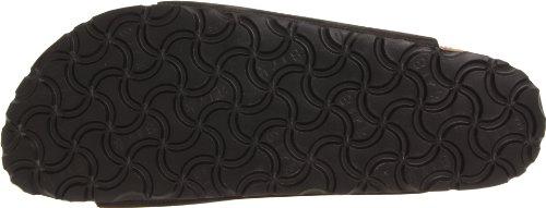 Birkenstock Women's Florida Soft Footbed Birko-Flor  Black Nubuck Sandals - 37 M EU / 6-6.5 B(M) US by Birkenstock (Image #3)