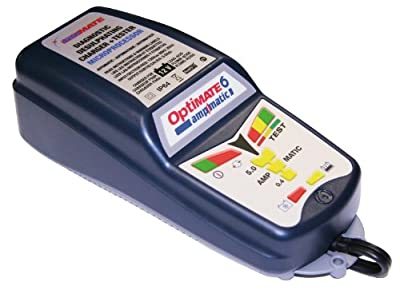 OptiMATE 6 Ampmatic, TM-181, 9-step 12V 5A Battery Saving charger-tester-maintainer
