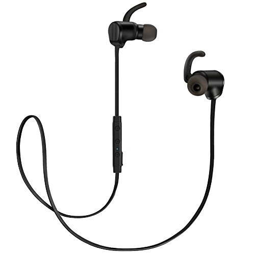 Bluesim Bluetooth Headphones with Microphone - 4.1 Wireless Bluetooth Earbuds for Running, Super Magnetic Neckband Earphones Noise Cancelling Bluetooth Headphones by Bluesim (Image #9)
