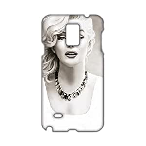 Angl 3D Case Cover Marilyn Monroe Phone Case for Samsung Galaxy Note4
