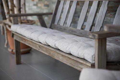 Wool Filled Bench Pillow, Bench Cushion, Custom Window seat cushion, Bench pad, Custom bench cushion size 62