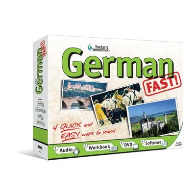 Instant Immersion German Fast: Software