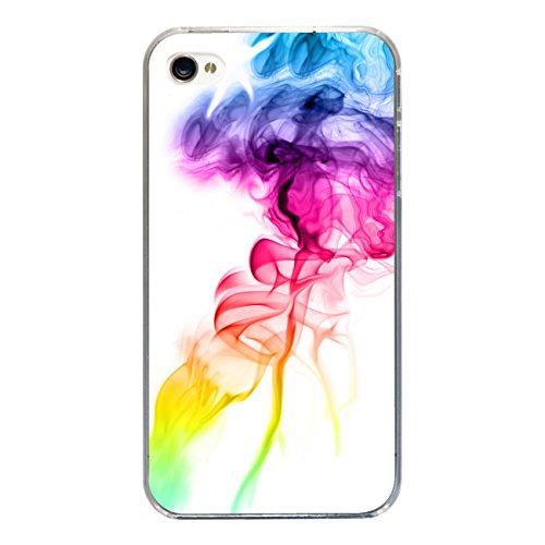 "Disagu Design Case Coque pour Apple iPhone 4s Housse etui coque pochette ""Bunter Rauch"""