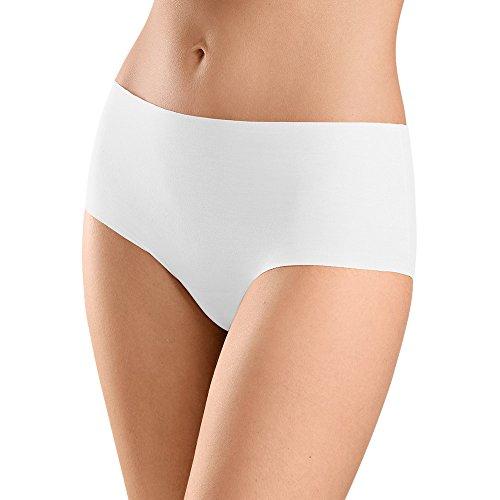 - HANRO Women's Invisible Cotton Full Brief, White, Small