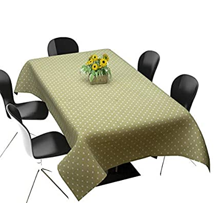 Yellow Weaves™ Designer Table Cloth Cover for Dining Table, Restaurant Party Banquet Decoration | 4-6 Seater, 52 X 70 Inches