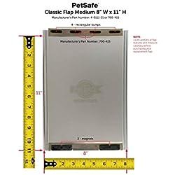 """PetSafe One Piece Pet Door Classic Replacement Flap - 8"""" x 11"""" - Medium - 4-0111-11"""