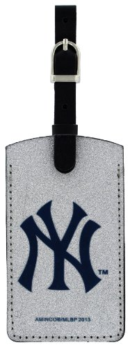 aminco MLB New York Yankees Sparkle Bag Tag