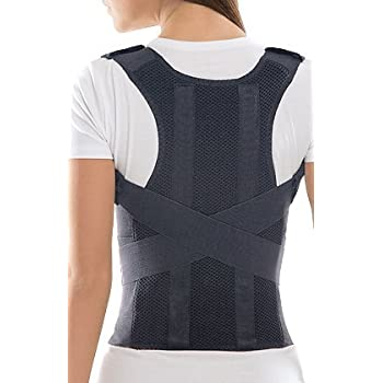 TOROS-GROUP Comfort Posture Corrector Shoulder and Back Brace Support Lumbar for Men Amazon.com: