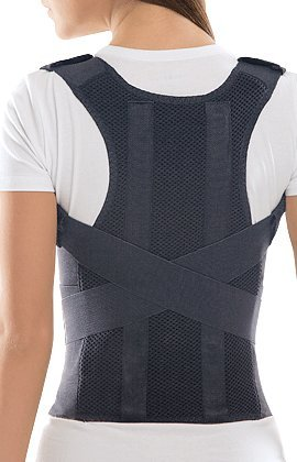 TOROS-GROUP Comfort Posture Corrector Shoulder and Back Brace Support Lumbar Support for Men and Women