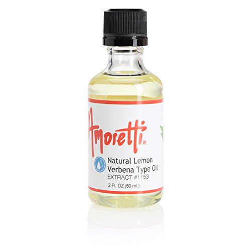 Verbena Natural (Amoretti Natural Lemon Verbena Type Oil Extract, 2 Ounce)