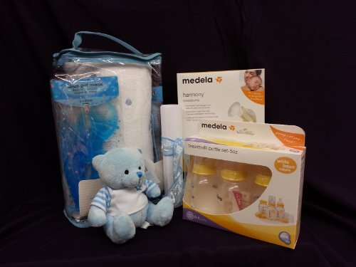 Medela Luxury Baby Shower Gift Set Boys/ Girls (blue) by Medela
