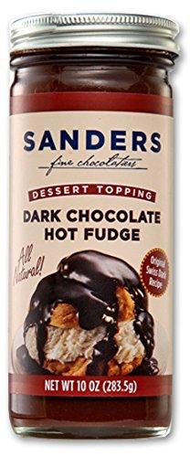 (Sanders Original Dessert Topping Dark Chocolate Hot Fudge 10 Oz (Pack of 3))