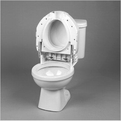 Removable Hinged Raised Toilet Seat Type: Regualr by Ableware (Image #1)