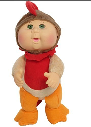 Cabbage Patch Kids 9 inch Farm Cuties - Rocky Rooster Green Eye ()