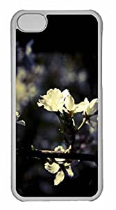 iPhone 5C Case, Personalized Custom Blossom 3 for iPhone 5C PC Clear Case