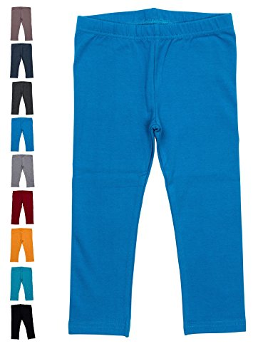 Baby and Toddler Leggings - Blue Azure - 12-18 Months]()