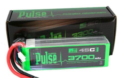 PULSE LIPO 3700mAh 14.8V 45C- ULTRA POWER SERIES ()