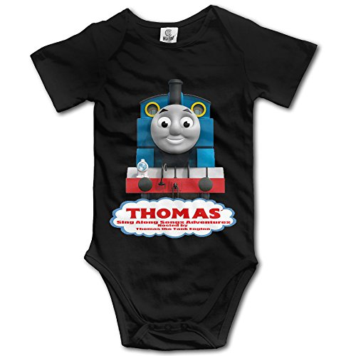 Thomas And Friends Baby Boy's & Girl's Short Sleeve Bodysuit Climbing Clothes (Thomas And Friends The Great Race Gina)