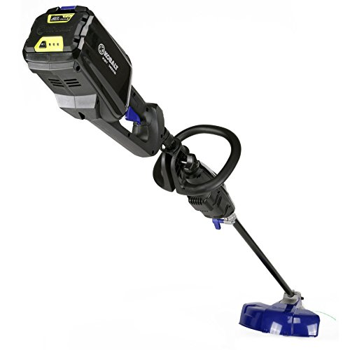 Kobalt 80-Volt Max 16-in Straight Brushless Cordless String Trimmer with 2.0-Ah Battery Charger