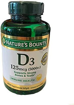 Natures Bounty Vitamin Release Softgels product image