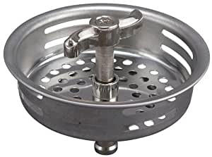 replace kitchen sink strainer keeney k1433 1 replacement quot turn 2 seal quot strainer basket 4739