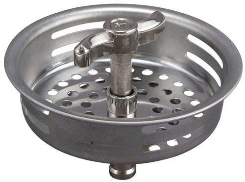 Keeney K1433-1 Replacement''Turn 2 Seal'' Strainer Basket, Stainless Steel