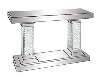 Deco 79 87217 Wood Mirror Console Table, 42u0026quot; ...