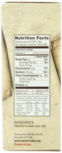 Natural Tides Mediterranean Kosher Salt, 2.2-Pounds (Pack of 6) by Natural Tides (Image #3)