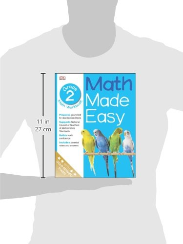 Math Made Easy: Second Grade Workbook (Math Made Easy): DK ...