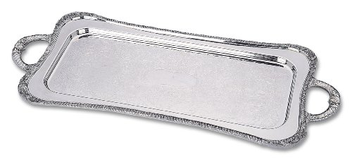 Reed & Barton 3613 Shell and Gadroon Cocktail Tray, -