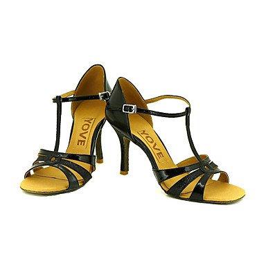 XIAMUO Anpassbare Frauen Beruf Tanz Schuhe, Blau, Us5.5/EU36/UK3.5/CN 35