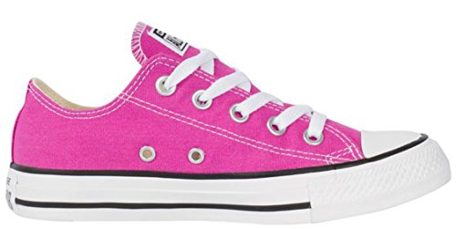 Converse Mens Chuck Taylor All Star Ox Stagionale In Plastica Rosa