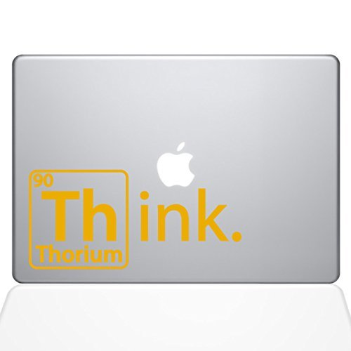 【オープニング大セール】 The Decal Guru Think Pro Thorium Macbook Yellow Decal Vinyl Sticker Macbook - 13 Macbook Pro (2016 & newer) - Yellow (1254-MAC-13X-SY) [並行輸入品] B0788GQT77, 最終値下げ:ece231e1 --- a0267596.xsph.ru