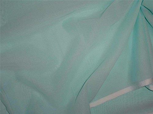 (100% cotton rubia voile sea green color 44