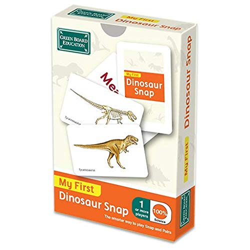The Green Board Game Co. Dinosaur Snap