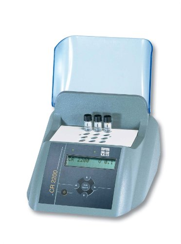 YSI 1P21-2Y Model CR 2200 Thermoreactor for COD & Thermal Digestions, Upto 12 Test Tubes, 3 Reactor Temperatures and 8 Fixed Programs, 115V by YSI