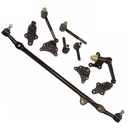 Pickup Center Link - 10 PC Kit Ball Joints Tie Rod End Idler Arm Center Link Toyota 2WD Pickup 89-94