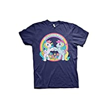 Officially Licensed My Little Pony - Best Friends T-Shirt (Navy)