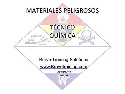 Amazon.com: SPANISH HAZMAT TECHNICIAN CHEMISTRY PPT TRAINING PRESENTATION HAZARDOUS MATERIALS
