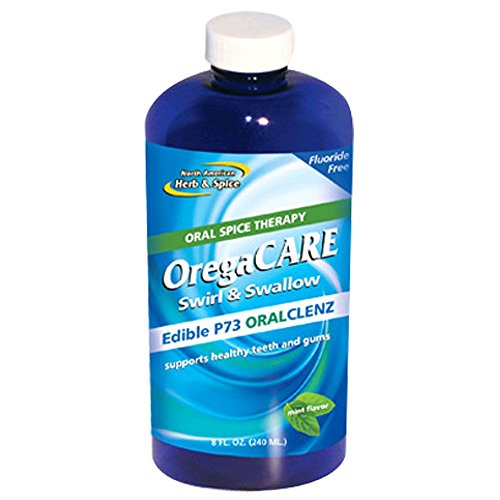 North American Herb and Spice Oregacare Swirl and Swallow Oral Cleanser, 8 ()