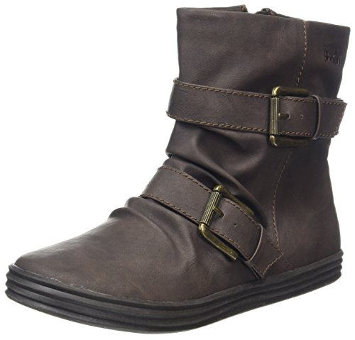 Motero Blowfish Estilo Brown Dk Botas Ranuka Brown Mujer qrEarvt0