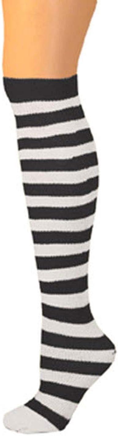 approx Socks Size 6-9 8-12 yrs Knee High Striped Socks AJs Girls Thigh High Ragdoll Socks